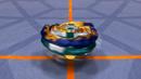 BBSK-Mirage Fafnir spinning in Beystadium center
