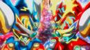 Beyblade Burst Superking Helios Volcano Ou Zone' Z & Hyperion Burn Cho Xceed' X 2