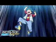 BEYBLADE BURST Episode 13 Shu vs Orochi at the District Tournament (Finale)