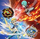 Beyblade Burst Rise Dante and Delta Poster