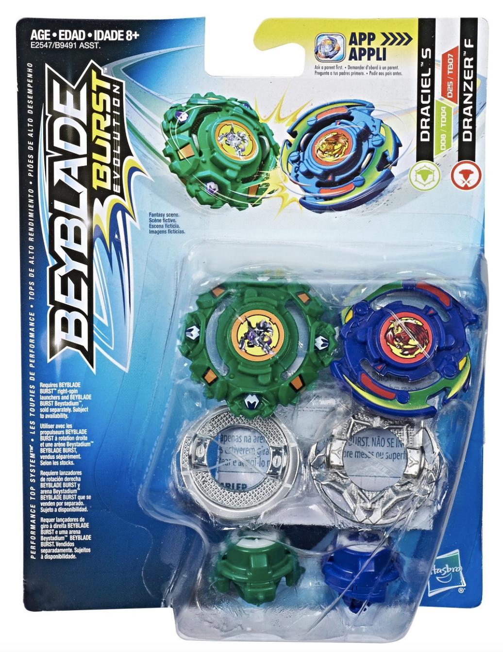 Draciel S & Dranzer F Dual Pack