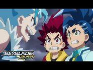 BEYBLADE BURST SURGE Episode 6- Dream Team! Tag Battle!