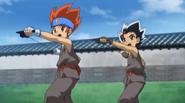 Gingka und Masamune