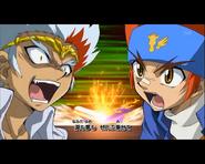 Ryuga gegen Gingka