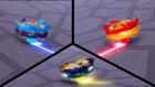 Burst Surge E4 - Super Hyperion and Kolossal Helios vs. Mirage Fafnir