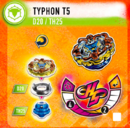 Rise Typhon T5 Info