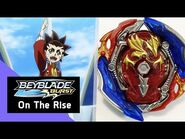 BEYBLADE BURST - On The Rise Series- Episode 1- Aiger returns with Union Achilles!