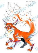 Bey Manga, Wild Fox settei