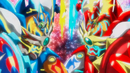 Beyblade Burst Superking Helios Volcano Ou Zone' Z & Hyperion Burn Cho Xceed' X 1