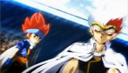 Ryuga und Gingka