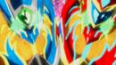 Beyblade Burst Superking Helios Volcano Ou Zone' Z & Hyperion Burn Cho Xceed' X 3