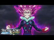 BEYBLADE BURST SURGE Episode 8- The Jet-Black Sun! Vex Lucius!