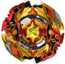 BBC Cho-Z Spriggan 0Wall Zeta' Beyblade 2