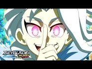 BEYBLADE BURST RISE Episode 19 Part 2 - Aurora! Superior-Flux!