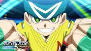 BEYBLADE BURST RISE Meet the Bladers Arman