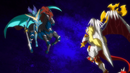 Beyblade Burst God Spriggan Requiem 0 Zeta vs God Valkyrie 6Vortex Reboot