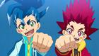 Burst Surge E1 - Hikaru and Hyuga Wanting to Make Their Own Lightning Beys