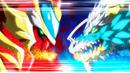 Beyblade Burst Gachi Union Achilles Convert Xtend+ Retsu vs Ace Dragon Sting Charge Zan