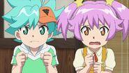 Toko and Nika worried