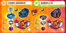 Rise Cosmic Kraken K5 and Gargoyle G5 Info