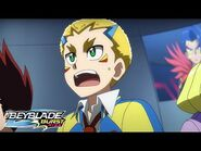 BEYBLADE BURST RISE Episode 16 Part 2 - Battle at the Infernal Tower!