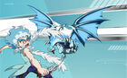 Beyblade Burst Lui Shirosagi and Lost Lúinor Avatar USA Website Poster
