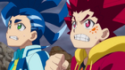 Burst Surge E7 - Hikaru and Hyuga After Being Defeated by Lui