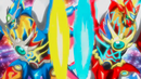 Beyblade Burst Superking Helios Volcano Ou Zone' Z & Hyperion Burn Cho Xceed' X 4