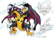 Bey Manga, Dark Gaia Dragoon settei