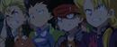 Beyblade Burst Evolution Episode 51 - Rantaro, Ken, Daigo and Wakiya scared about Valt