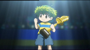 Kenta stellt sich als Sieger vor