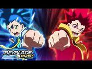 BEYBLADE BURST SURGE Episode 2- Locked On! Lightning Launch!