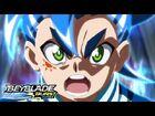BEYBLADE BURST SURGE Episode 17- Spirit of Fire! World Spryzen!