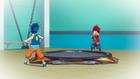 Burst Surge E4 - Hikaru and Hyuga Battling in a Flashback