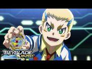 BEYBLADE BURST SURGE Episode 13- A True Hero! Tag Battle Style!