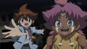 Beyblade 4D Yuki and Titi