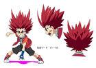 Beyblade Burst Chouzetsu Aiga Akaba Concept Art 8