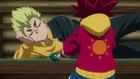Burst Surge E7 - Hyuga Begging Rantaro to Let Him Battle Lui