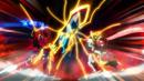 Beyblade Burst Chouzetsu Buster Xcalibur 1' Sword (Buster Xcalibur 1'Dagger Sword) vs Cho-Z Achilles 00 Dimension