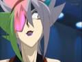 His eyepatch is glowing pink :3