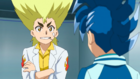 Burst Surge E9 - Ranjiro Asking Hikaru About Lain and Vex Lucius