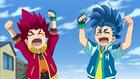 Burst Surge E10 - Hikaru and Hyuga After Witnessing Dante's Battle