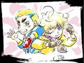 Dante and Takanosuke fanart