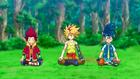 Burst Surge E5 - Hikaru and Hyuga Joining Free in His Meditation