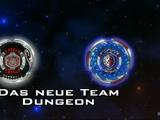 Das neue Team Dungeon