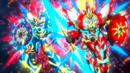 Beyblade Burst Superking Helios Volcano Ou Zone' Z & Hyperion Burn Cho Xceed' X 6
