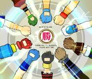 Beyblade All-Star Protagonists fist bump.jpg