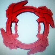 Bey, Vortex Ape 1 Main Attack Ring (Front view)