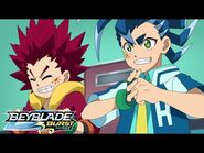 BEYBLADE BURST SURGE Episode 10- Rise to Victory! Triumph Dragon!