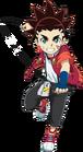 Beyblade Burst Chouzetsu - Aiga Akaba Launch